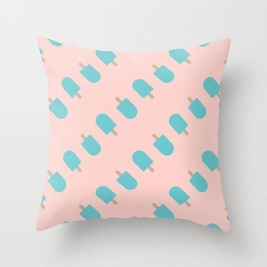 Ice Cream I Throw Pillow
