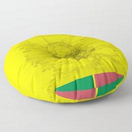 Words of Reggae Floor Pillow
