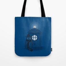 Dr Who Who? Tote Bag