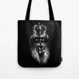 Lion, Lionart, King, Animal, Black,Minimal,Interior, Black White,Wall art, Art Print,Trendy decor Tote Bag