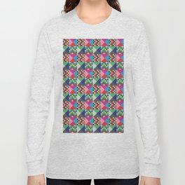 geometric//pattern//amazin-ness Long Sleeve T-shirt