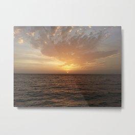 Alabama sunset Metal Print