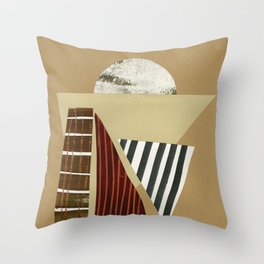 Desert Horizon Throw Pillow