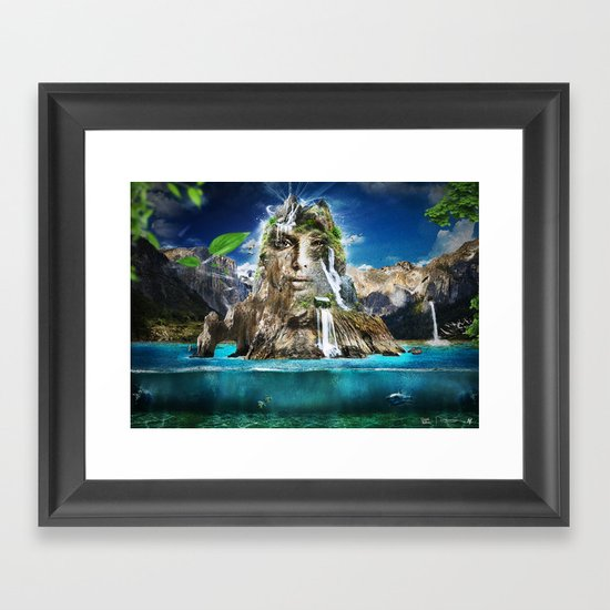 Beyond Nature Framed Art Print