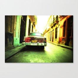 Cuban Car 1 Canvas Print