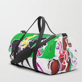 At the Races           by Kay Lipton Duffle Bag