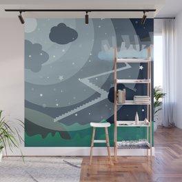 Tir-na Nog'th Stairs Wall Mural