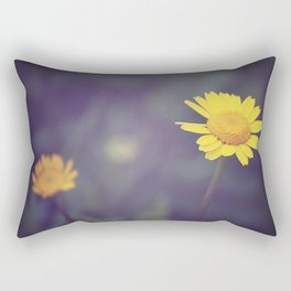 Miss Yellow Daisy Rectangular Pillow