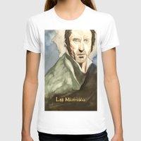 les mis T-shirts featuring Les Mis by Paxelart