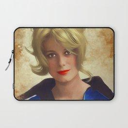 Catharine Deneuve, Vintage Actress Laptop Sleeve