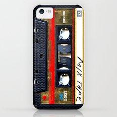classic retro Gold mix cassette tape iPhone 4 4s 5 5c, ipod, ipad, tshirt, mugs and pillow case iPhone 5c Slim Case