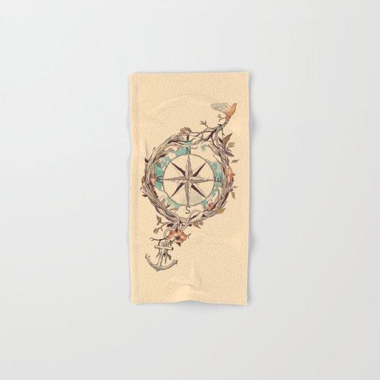 Bon Voyage Hand & Bath Towel
