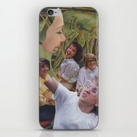 sisters iPhone & iPod Skins featuring Sisters by Jon Duci