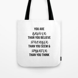 You Are More Than You Think Tote Bag
