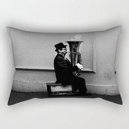 Tuba Fire Rectangular Pillow