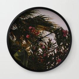 Tropical Biloxi Vibes Wall Clock