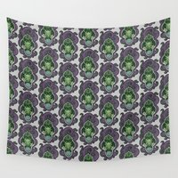 cthulhu Wall Tapestries featuring Cthulhu by AvisNoctem