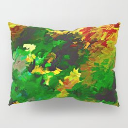 Emerald Forms Abstract Pillow Sham