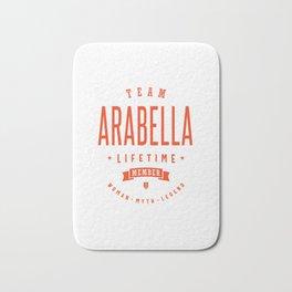 Arabella Personalized Name Birthday Gift Bath Mat