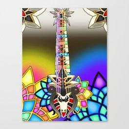 Fusion Keyblade Guitar #10 - Unicornis' Keyblade & Combined Keyblade Canvas Print