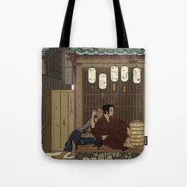 A moment of respite Tote Bag