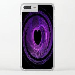 Love Spun Clear iPhone Case
