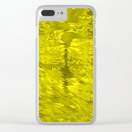 Sun and clouds Clear iPhone Case