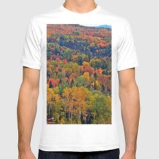 Pure Nature in October Mens Fitted Tee White MEDIUM