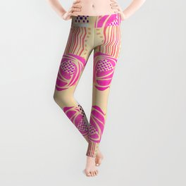 "Charles Rennie Mackintosh ""Roses"" (2) Leggings"