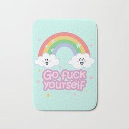 Go Fuck Yourself ;) (mint) Bath Mat