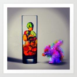 MixMotion: Squirrel Sours Art Print