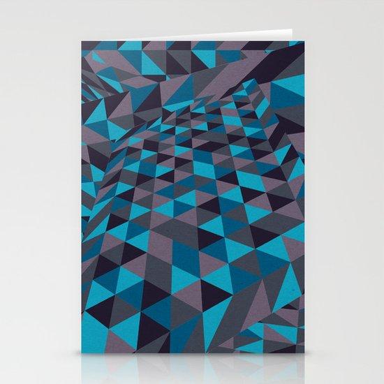Triangulation (Inverted) Stationery Cards