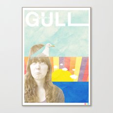 My Mind's a Gull Canvas Print