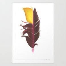 Feather #7 Art Print