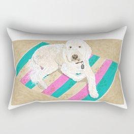 Shaggy Rectangular Pillow