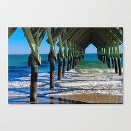 Wrightsville Beach Pier North Carolina Canvas Print