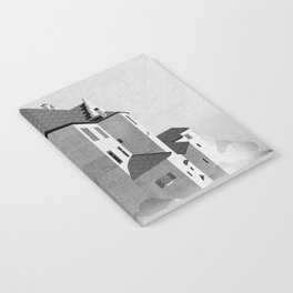 Castle in the Sky | Black & White Notebook