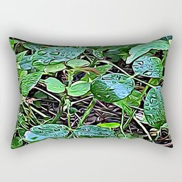 Living Leaves Rectangular Pillow