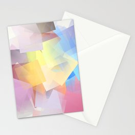 Cubism Abstract 189 Stationery Cards