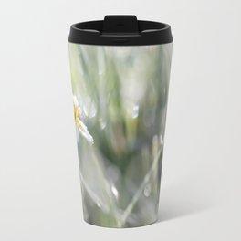 The last frost- Frozen buttercup Travel Mug