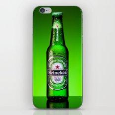 Ice cold Heineken iPhone & iPod Skin