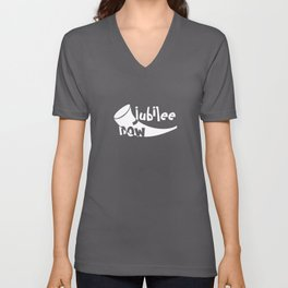 Christian Design - Jubilee Now with Shofar Unisex V-Neck
