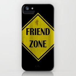 Friend Zone iPhone Case