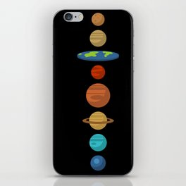 Flat Earth iPhone Skin