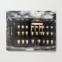 Lothian Chambers Building, George the IV Bridge, Edinburgh, Scotland [Night-time Mix] Metal Print