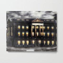 Lothian Chambers Building, George the IV Bridge, Edinburgh, Scotland [Night-time Mix] Metal Print