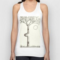 squirrel Tank Tops featuring Squirrel & by hankhenry