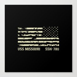 USS Missouri Canvas Print