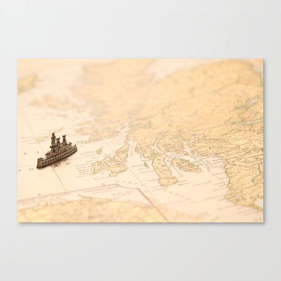 Travel Dreams Canvas Print