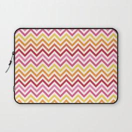 Rainbow Chevron #1 Laptop Sleeve